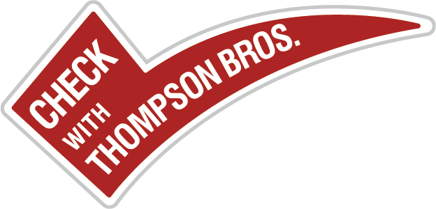 Check with Thompson Bros.